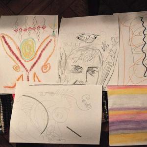 Miniwarsztat i wykład Vedic Art w cafe pub Niezła Sztuka, 23.09.2018, zdjęcia: Niezła Sztuka